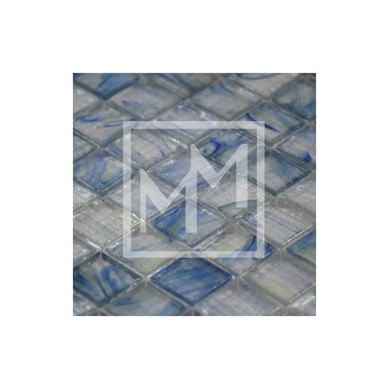 Mosa que carrelage pate de verre color e et transparent pour cuisine for Carrelage mosaique pate de verre